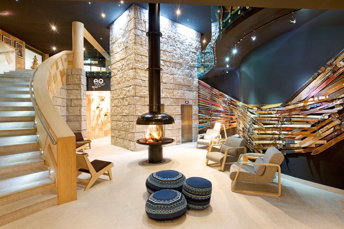best luxury Ski & Spa hotels in the Alps