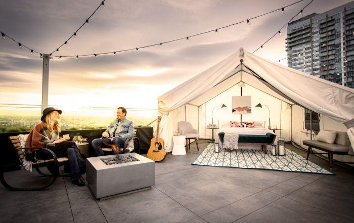 Le Meridien Denver Downtown Boasts Denver's Highest, Open