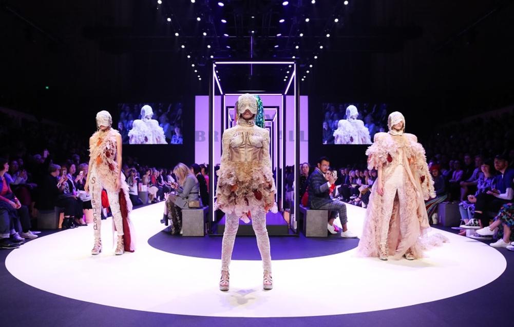 Front Row at Australia's Fashion Flash Mob, Melbourne Fashion Week