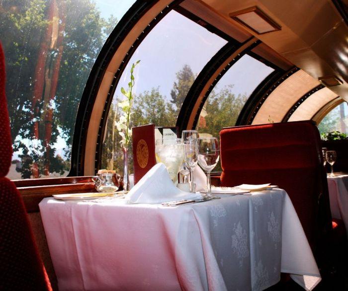napa wine train vista dome