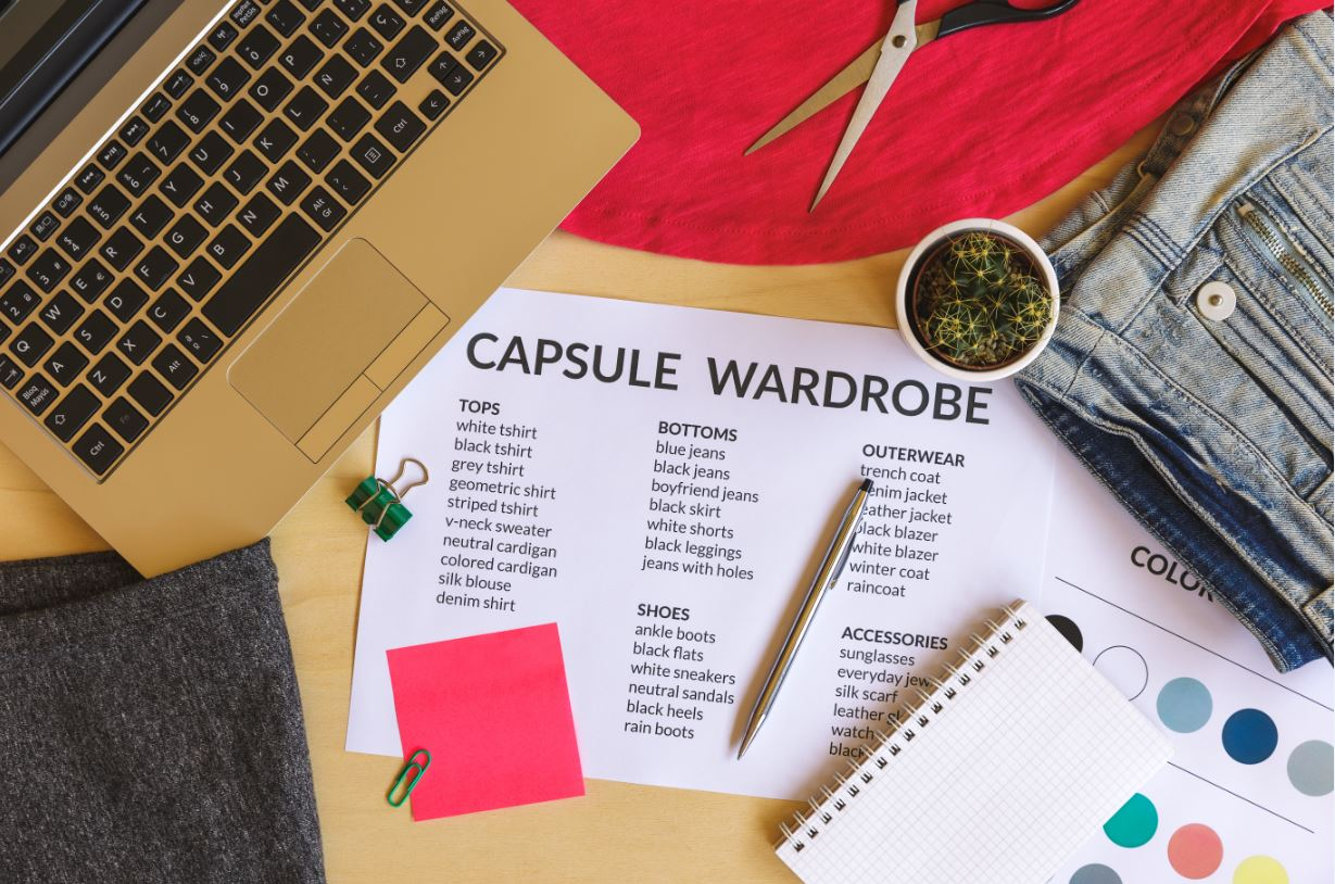 Capsule Wardrobes Are Trending In Women's Fashion
