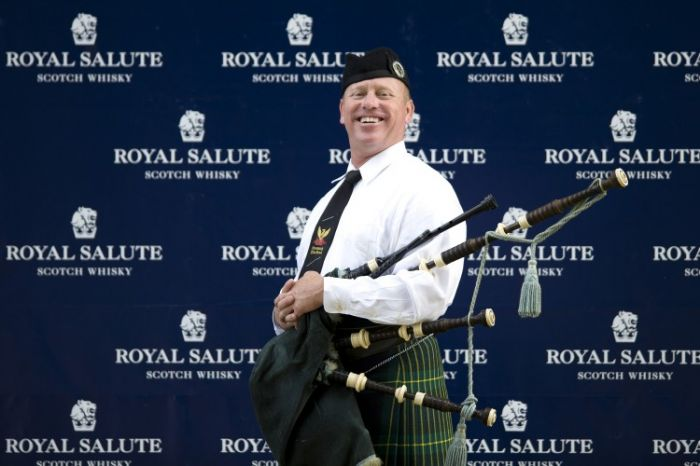 Greenwich Polo Club bagpipes