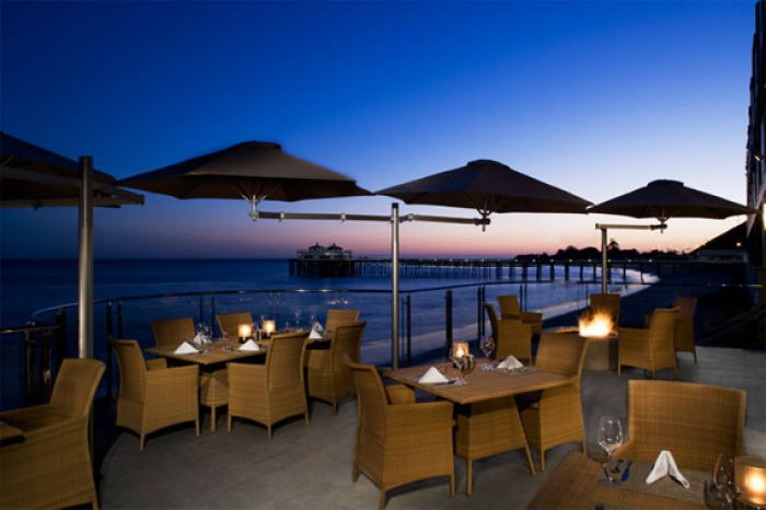 Malibu Beach Inn restaurant