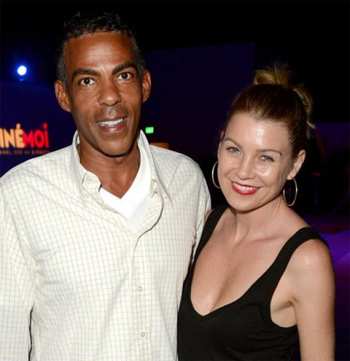 Ellen Pompeo with husband Chris Ivery