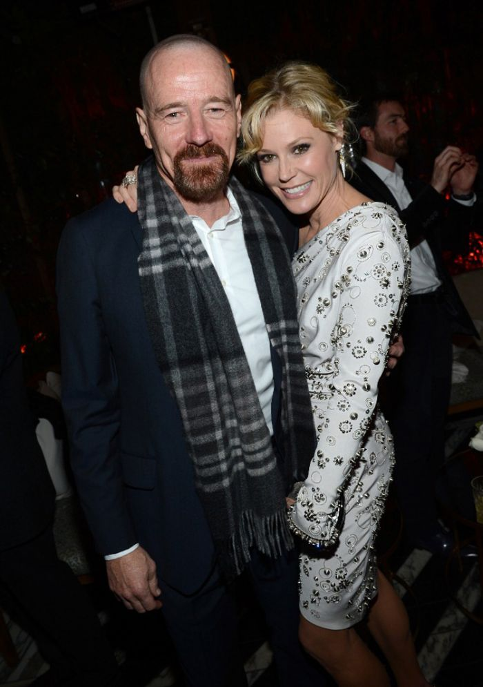 Bryan Cranston and Julie Bowen at the Audi preparty