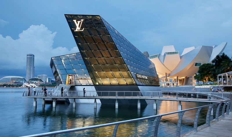 The Louis Vuitton Island Maison