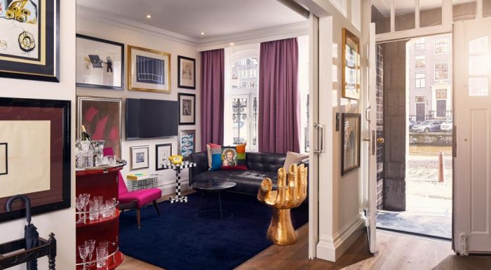 For Creative Types  The Art Collector s Suite. Which Luxury Suite to Book at Amsterdam s Hotel Pulitzer