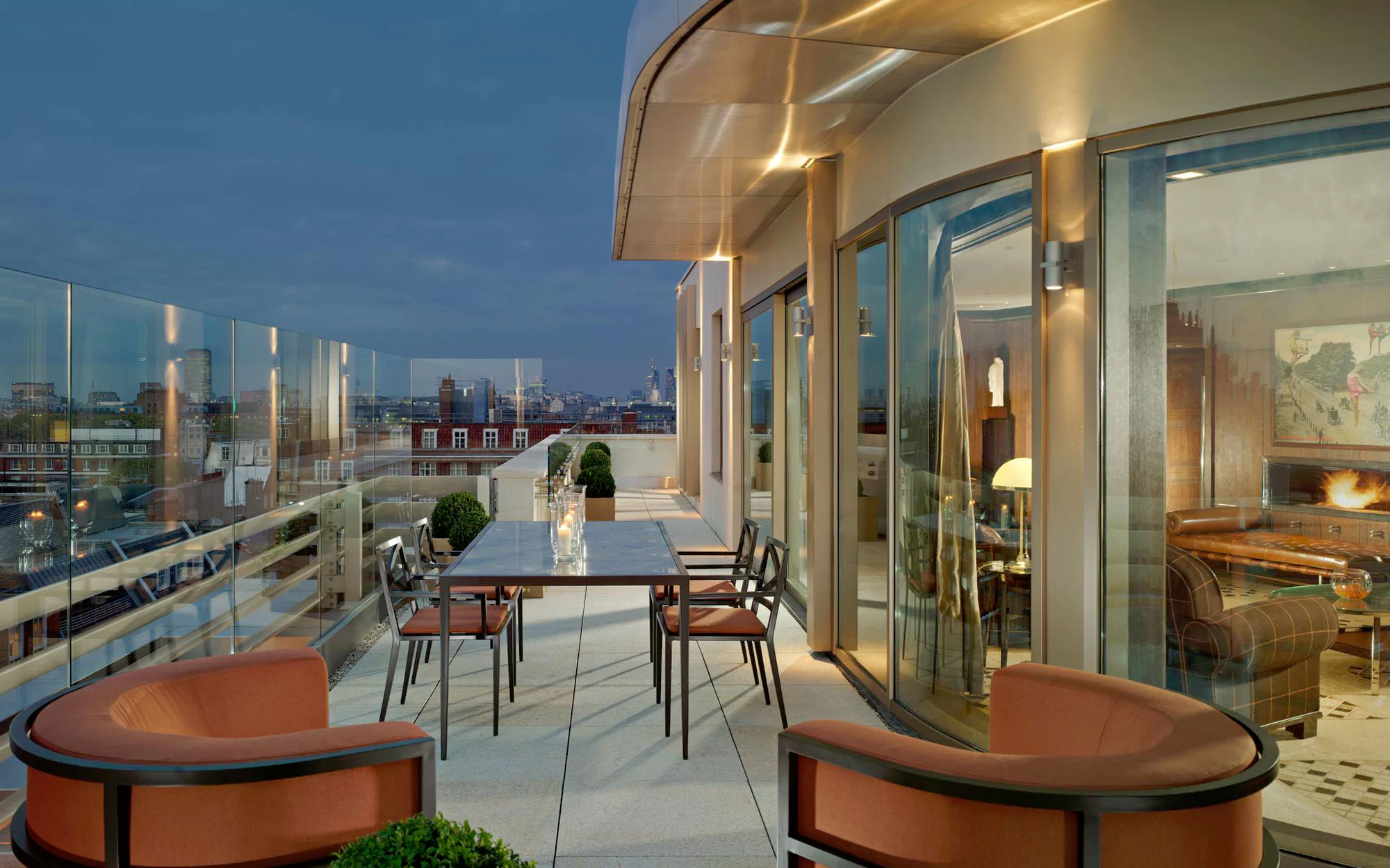 The 6 Best Rooftop Penthouse Suites In London