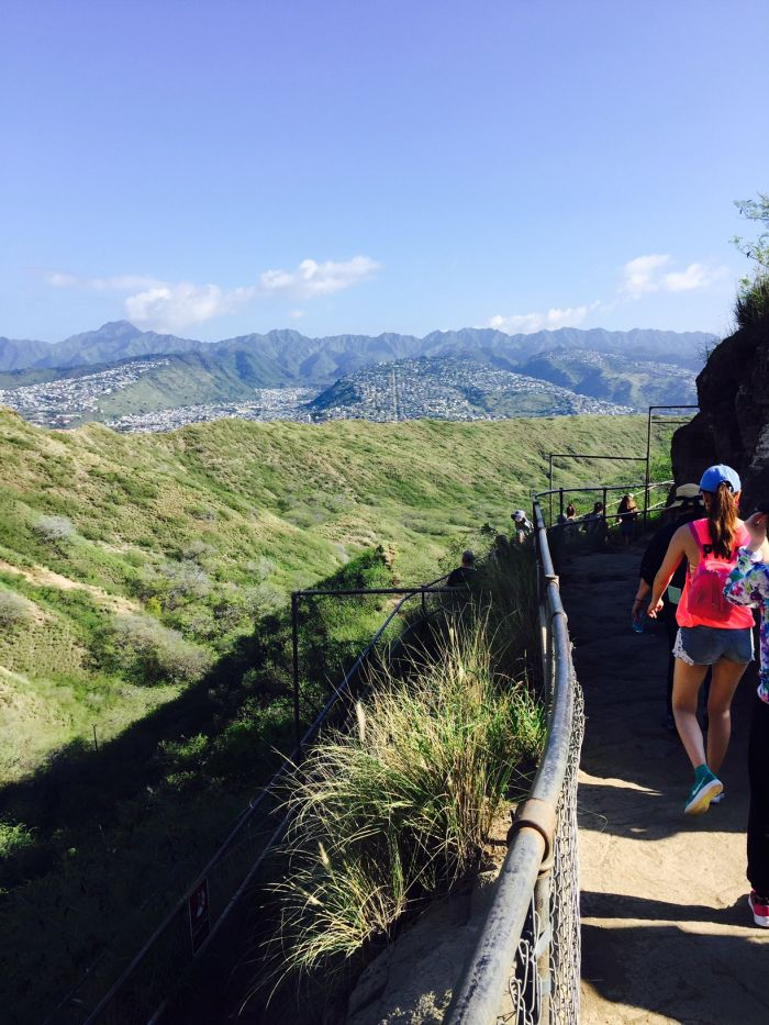 Hiking Waikiki S Iconic Diamond Head