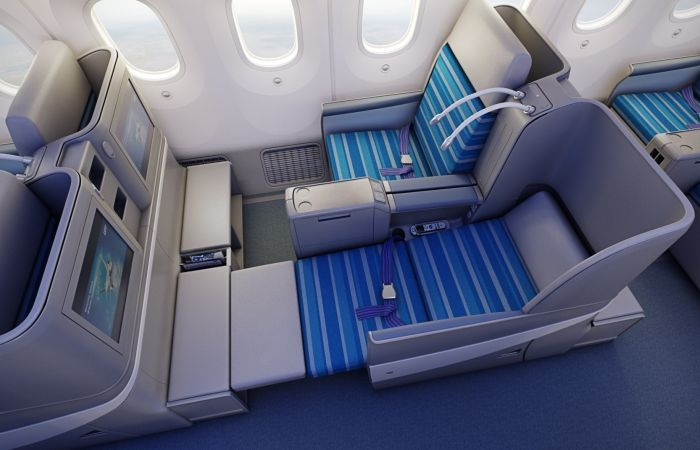 Biz Class on LOT's Dreamliner