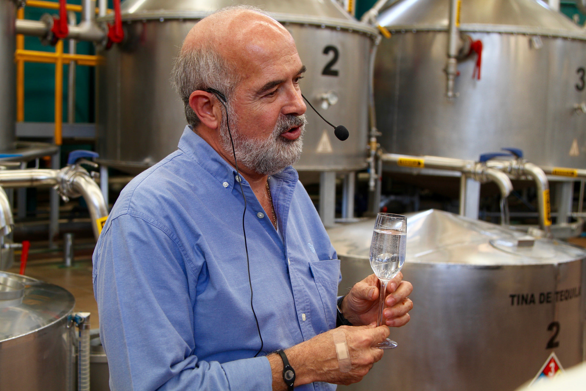Don Julio Master Distiller Enrique de Colsa