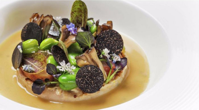 Le Cirque Rabbit Symphony With truffles