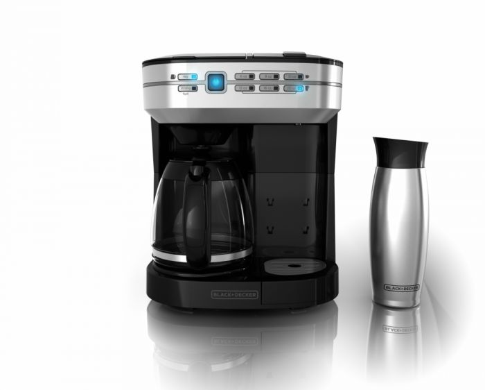 Café Select™ Dual Brew Coffeemaker with Travel Mug