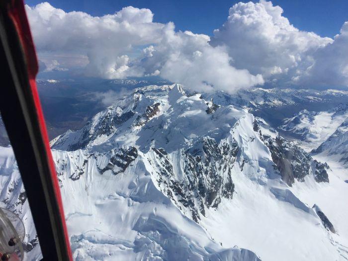 K2 flightseeing over Denali