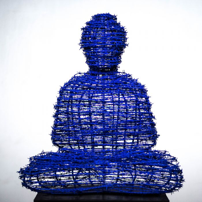 The Barbed Wire Buddha