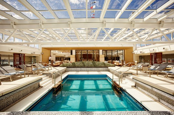 Viking Star Pool, Outdoor.