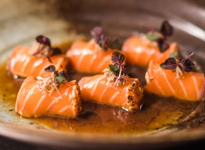 Salmon Truffle Honey