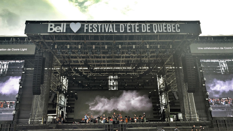 Festival in Quebec