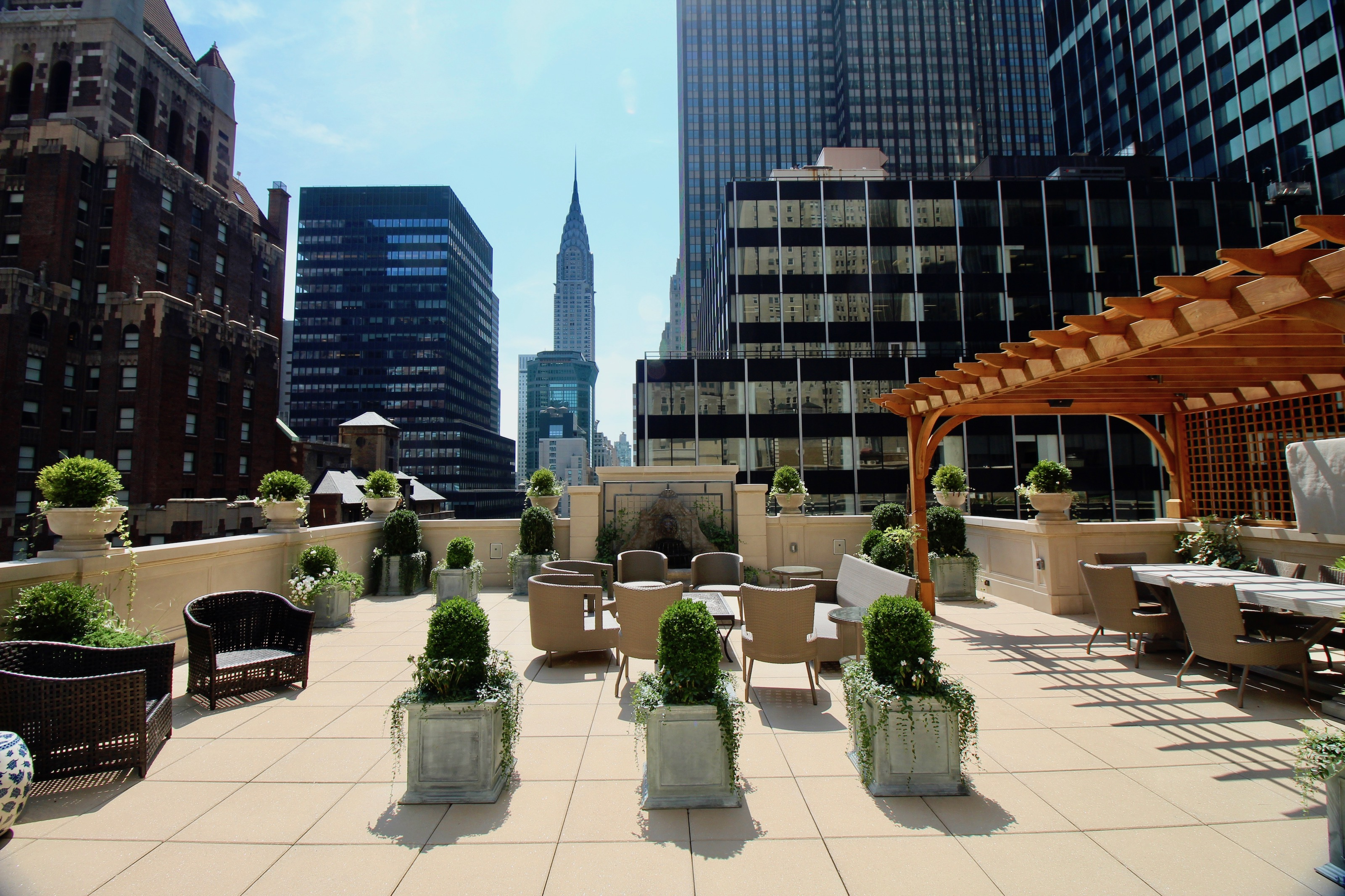 Intercontinental New York Barclay Life Is Great At The Top
