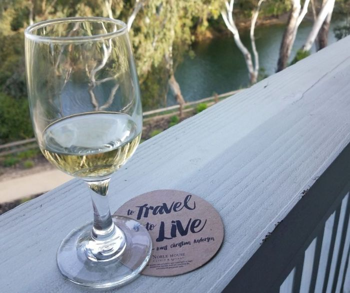 wine and napa river