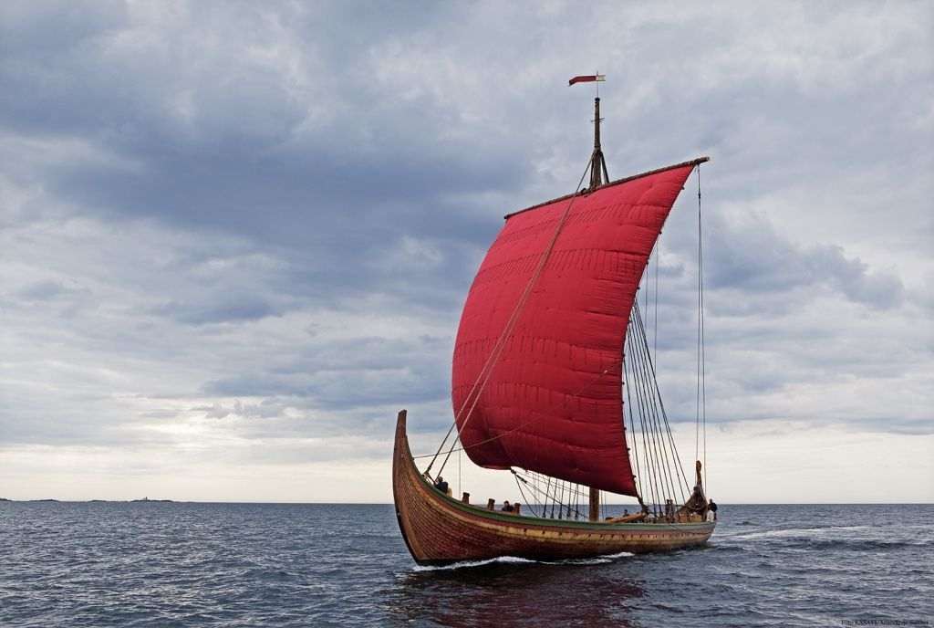 The World S Largest Viking Ship Sets Sail For America