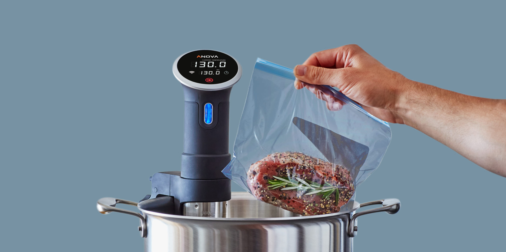Anova Culinary Bluetooth Sous Vide Precision Cooker