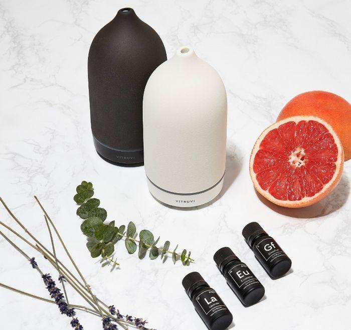 Porcelain Vitruvi Essential Oil Diffuser