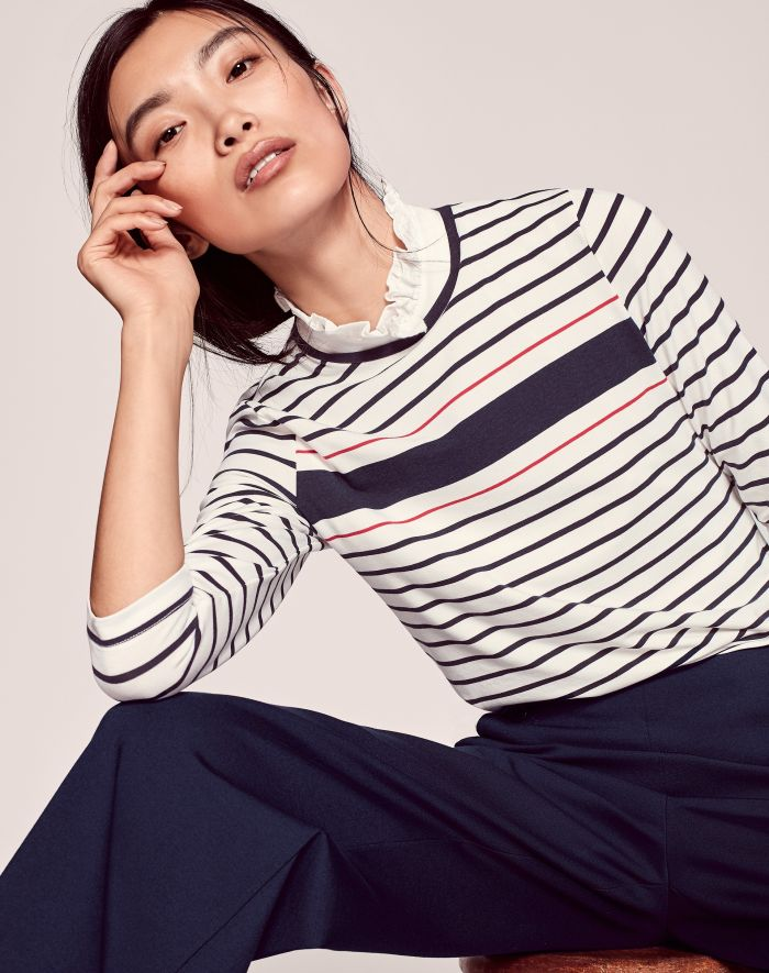 Breton stripped shirt