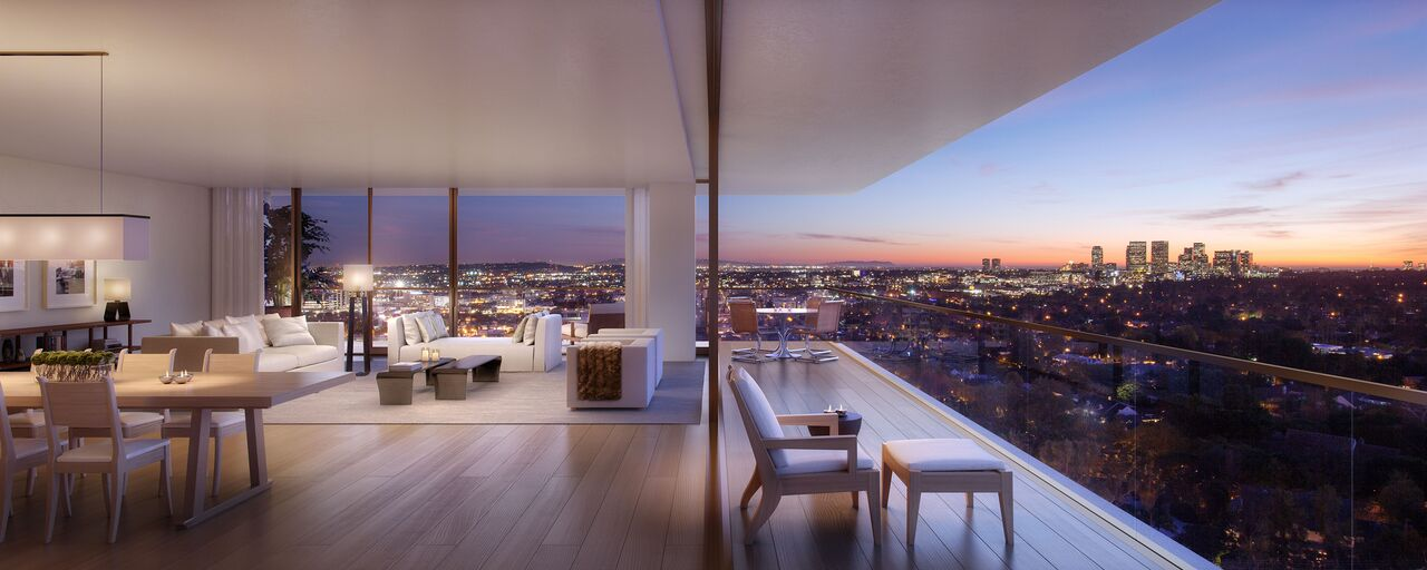 Residences At The West Hollywood Edition Unveil Stunning Interiors