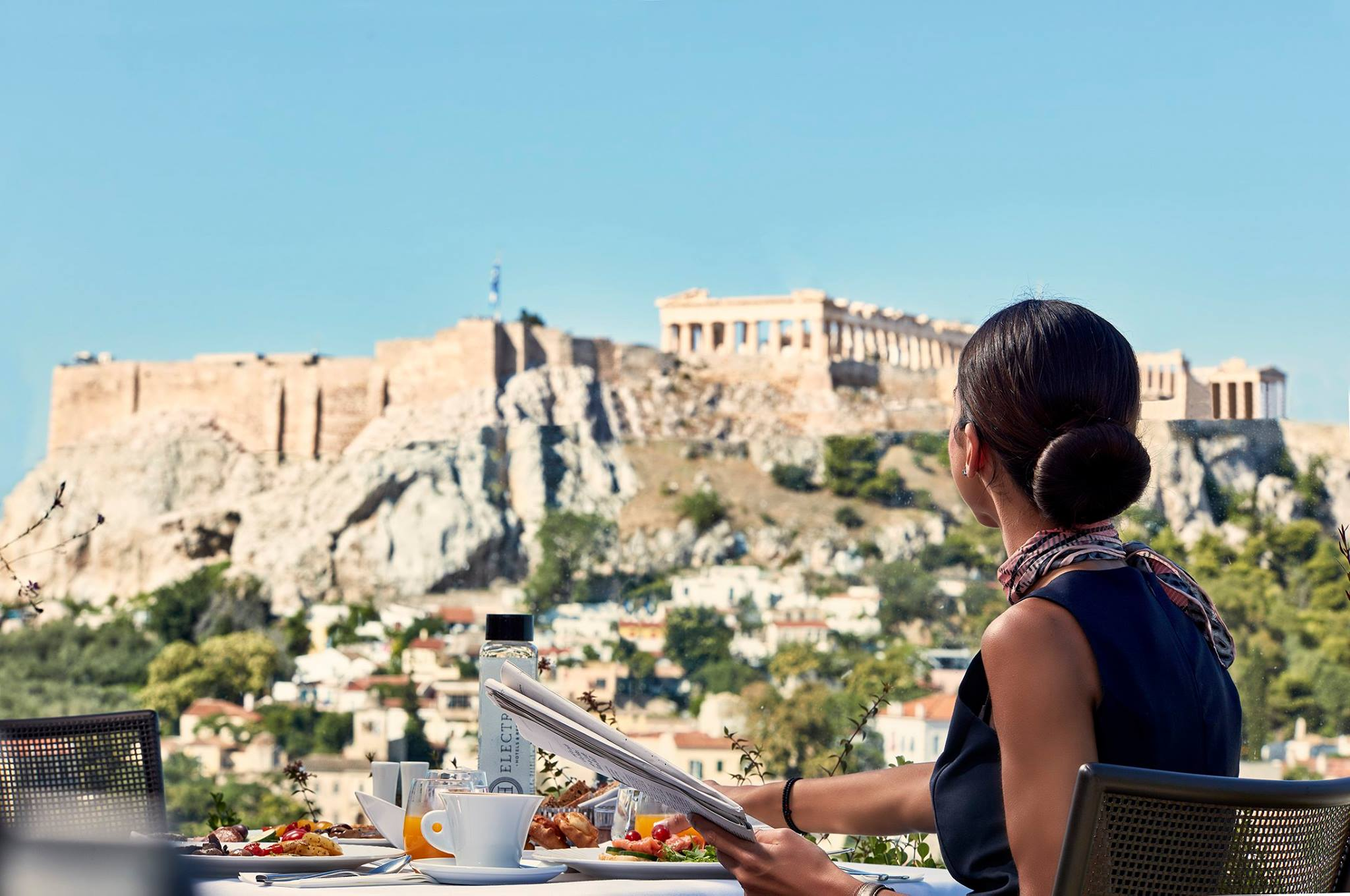 On Top of it All: The Electra Metropolis Athens Hotel