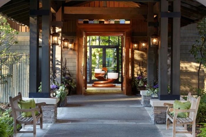 The Lodge at Woodloch's Exquisite Interior Design