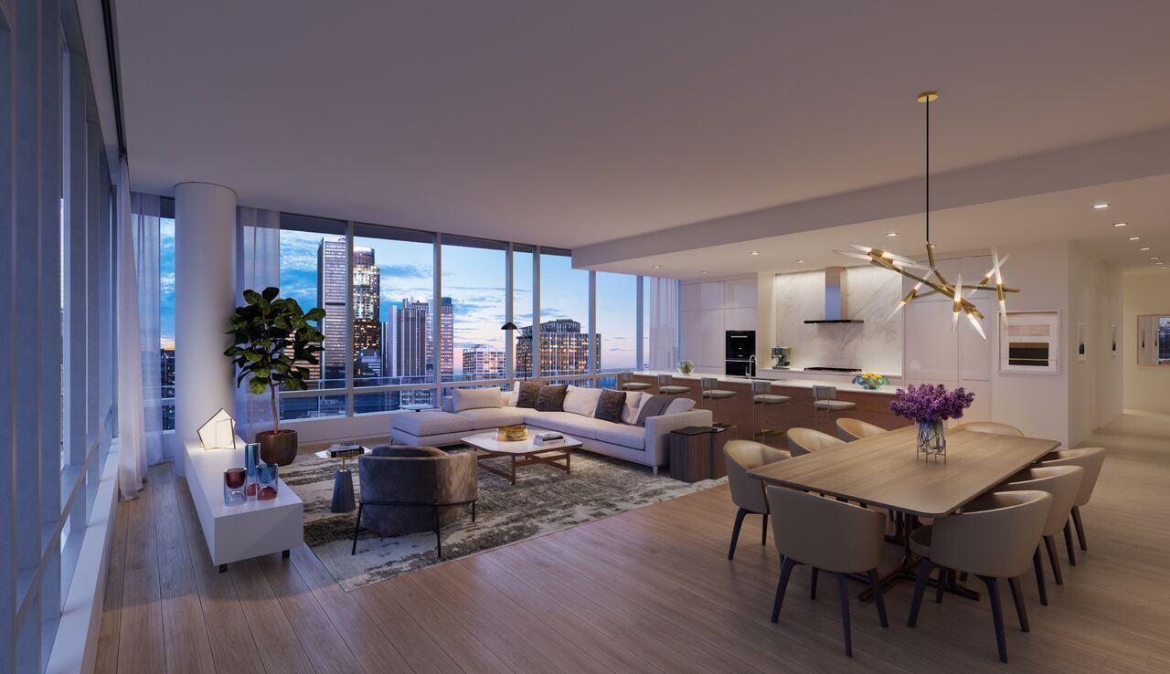 An Inside Peek at Los Angeles' New Exclusive Residences: Oceanwide Plaza