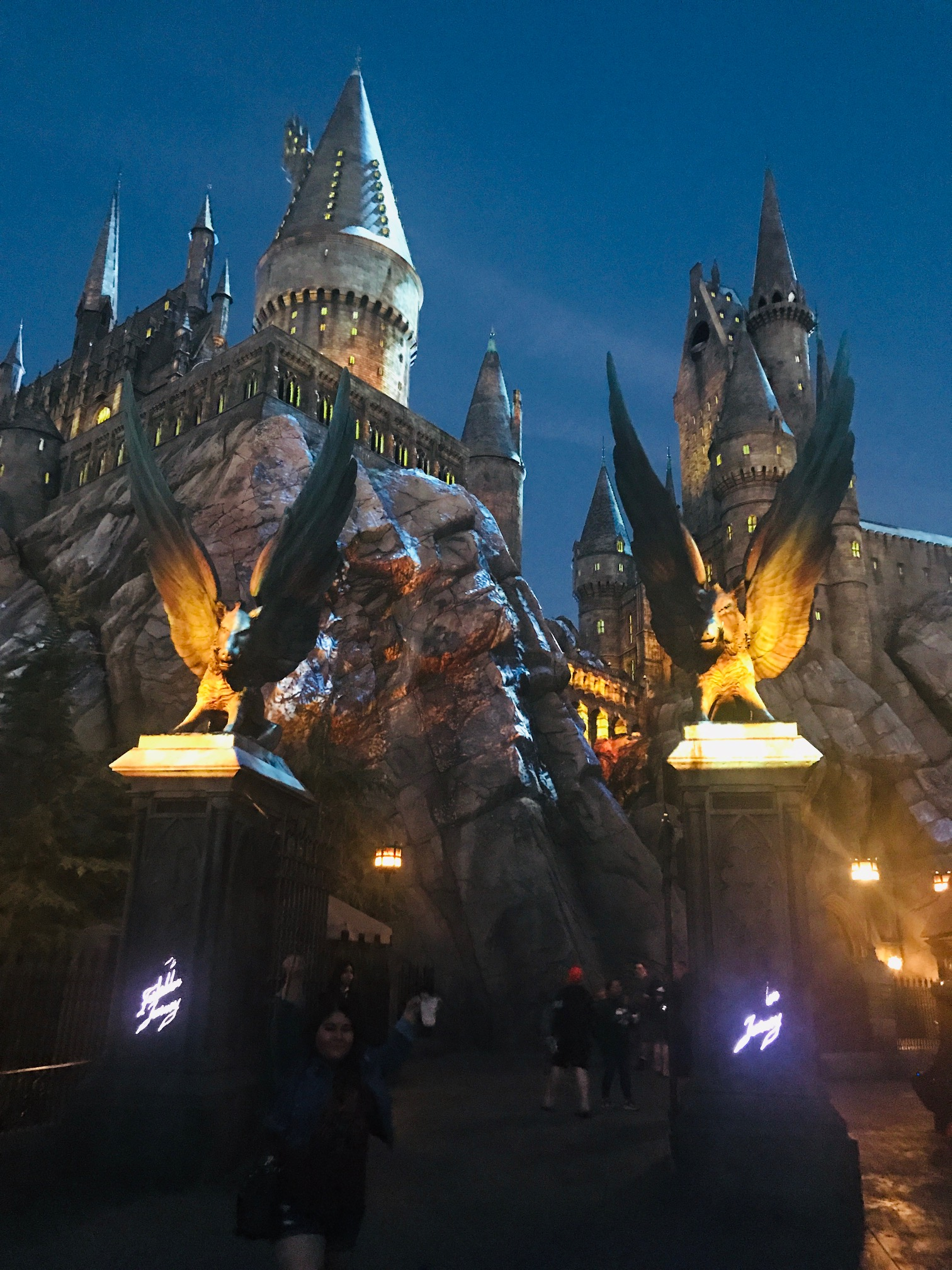Dark Arts Illuminates Hogwarts Castle at Universal Studios