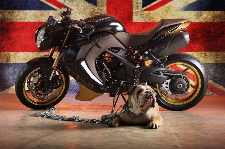 luxury motorcycle