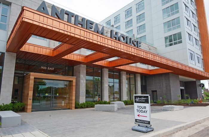 Anthem house baltimore 39 s newest 100 million apartment for Anthem house music
