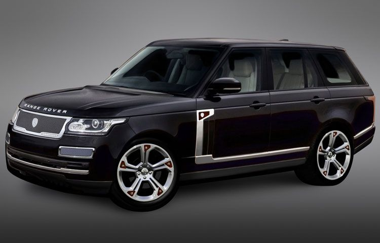 STRUT accessories for 2013 Range Rover