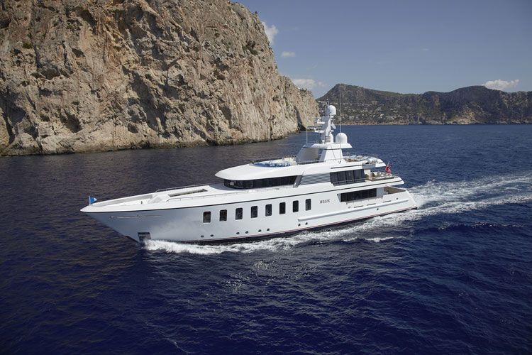 Helix Superyacht for sale