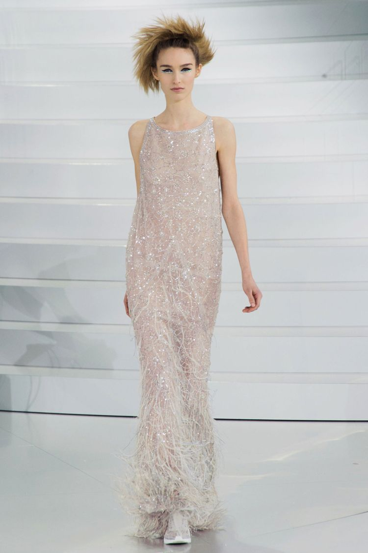 Chanel Couture Spring 2014 runway