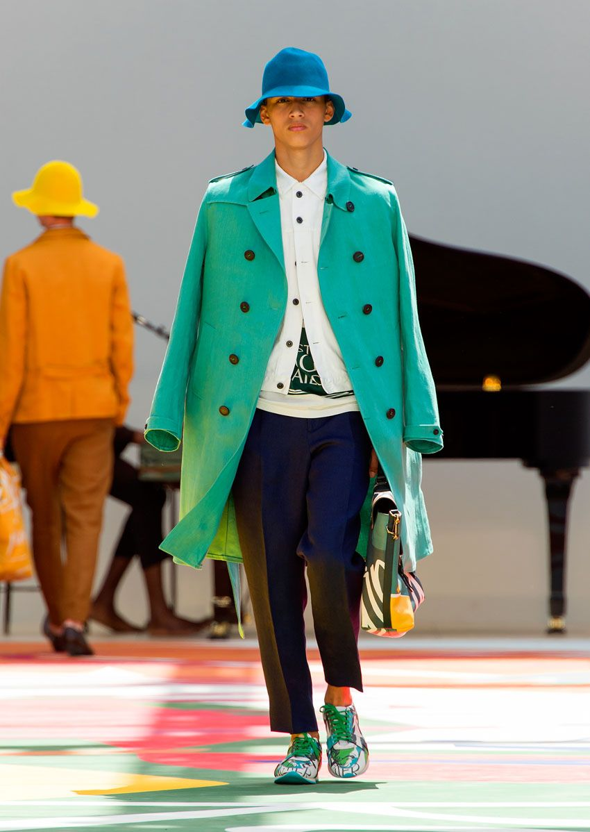 men�s Burberry Spring/ Summer 2015