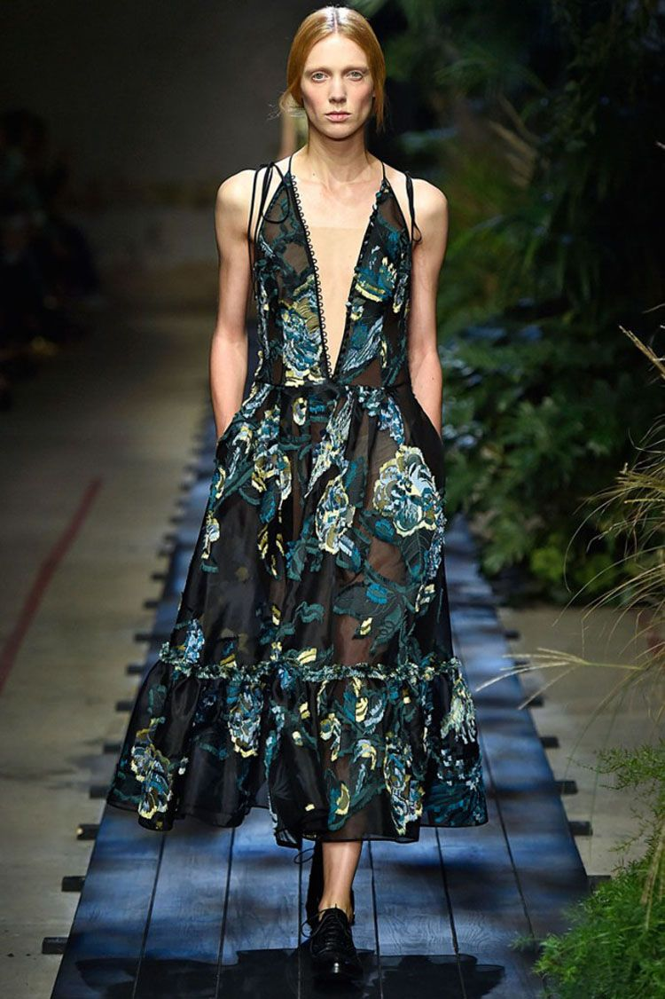 Erdem Ss15 A Tropical Jungle Of Summer Colors And