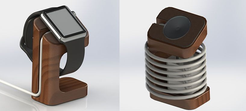 DODOcase , apple watch, charging stand