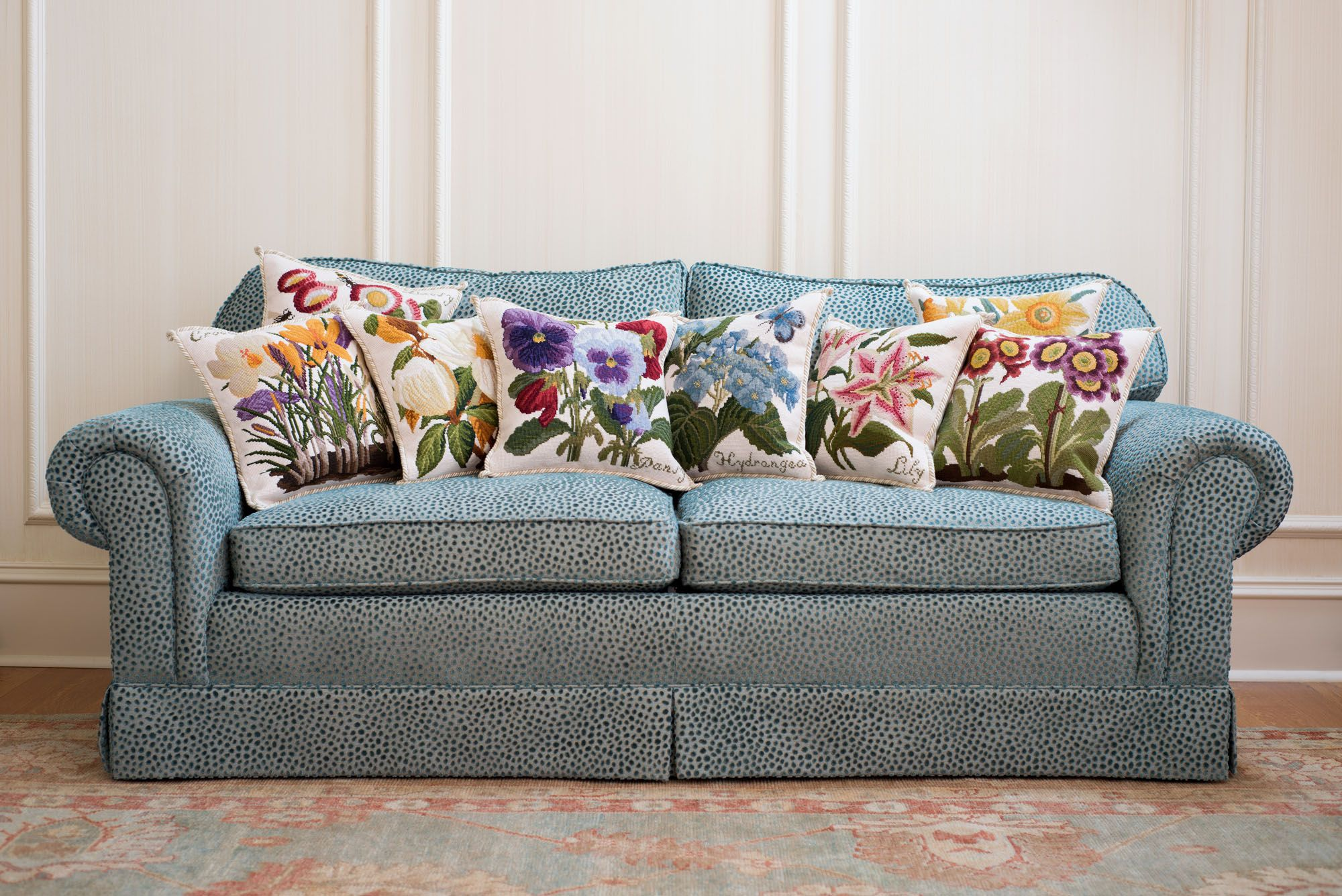 Elizabeth Bradley Home, luxury pillows