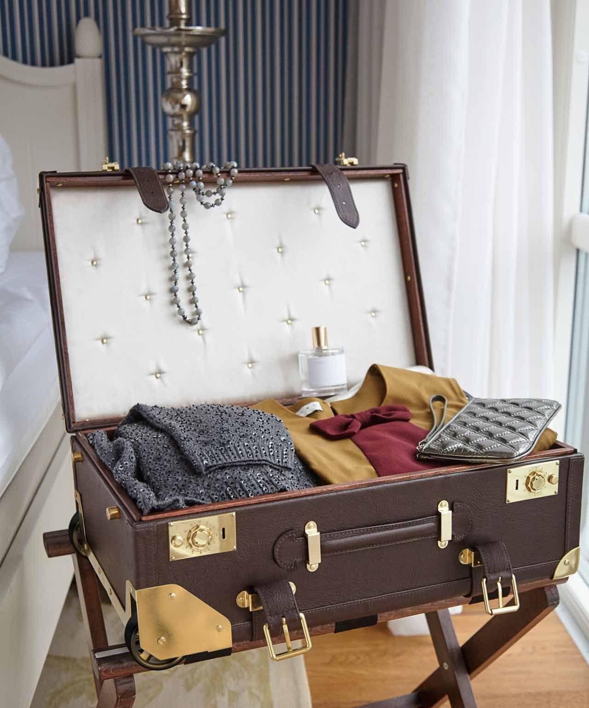Mauro Bianucci, wilkens, bespoke luggage, suitcase, trunk