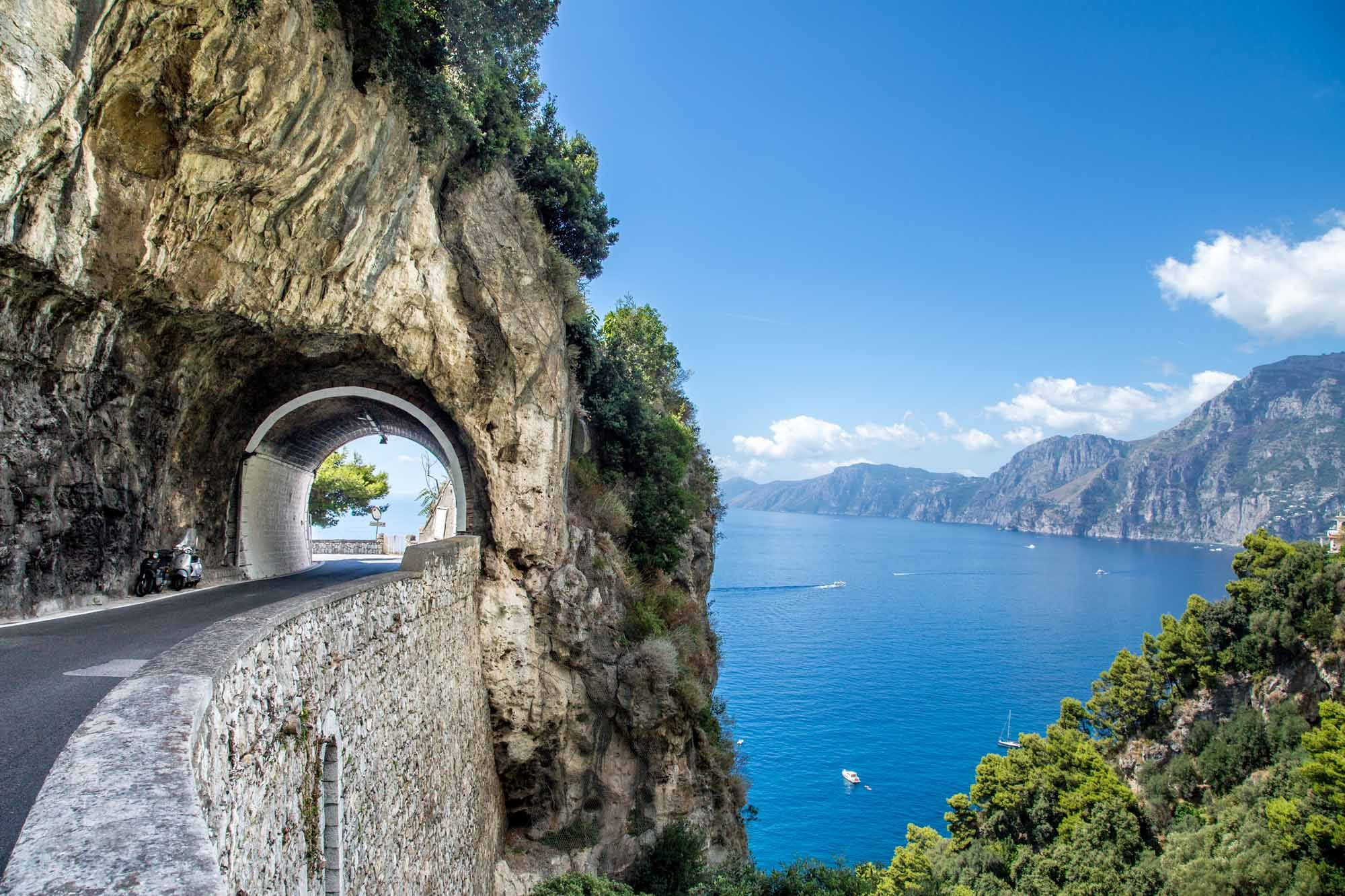 driving tour, amalfi coast