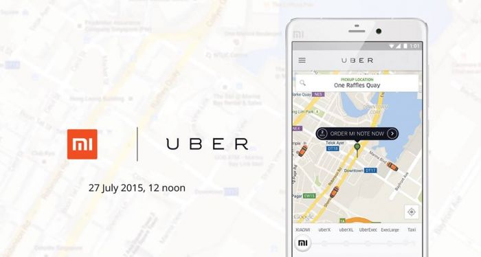 Xiaomi, Mi Note, uber