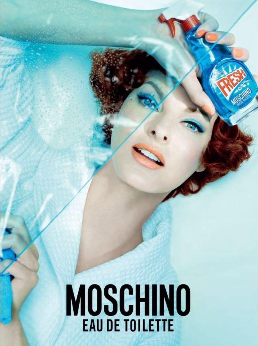 Linda Evangelista Moschino Fresh