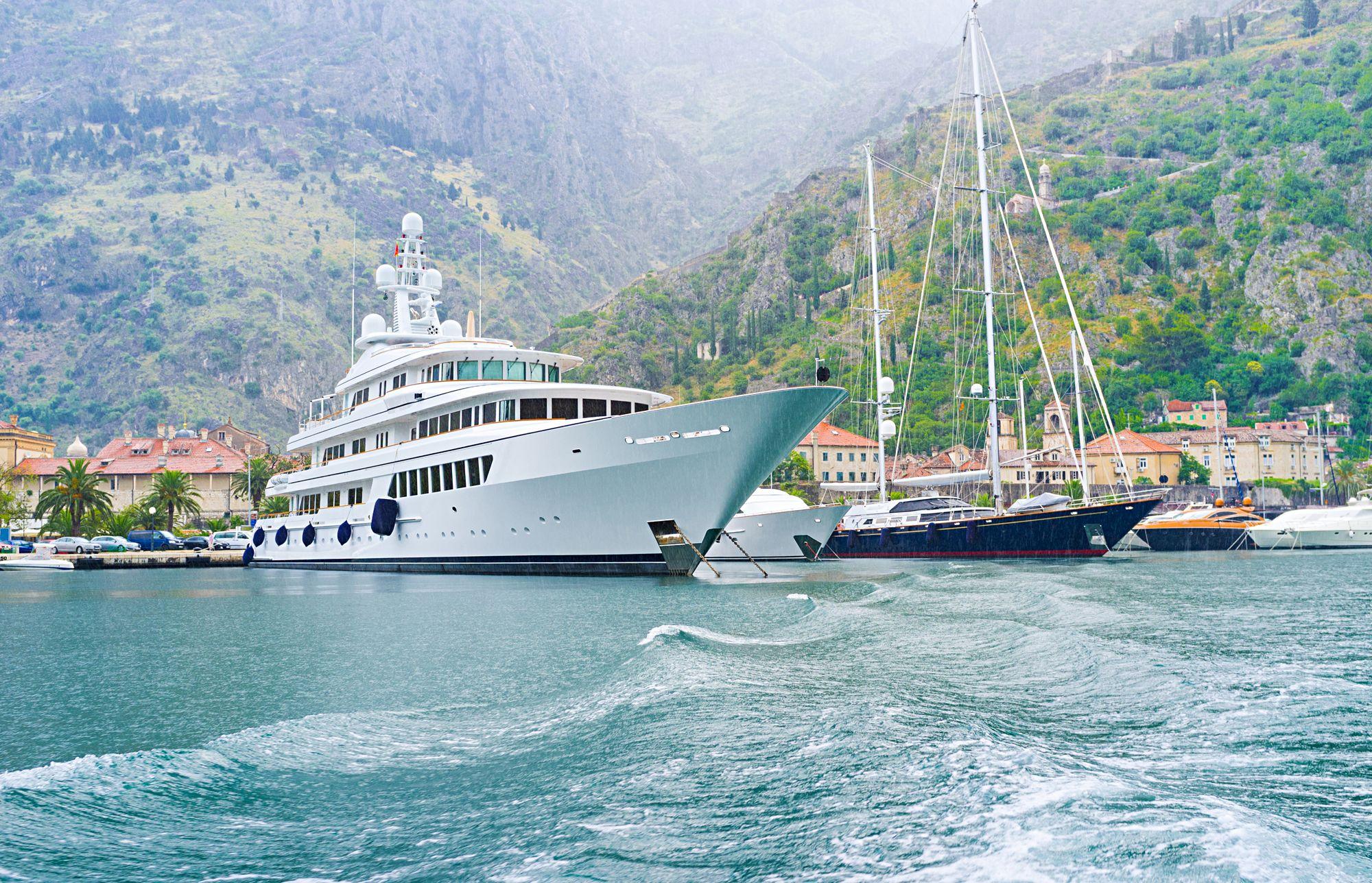 montenegro, luxury yacht