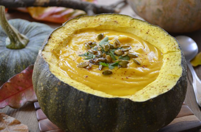 ... Extra Pumpkins to Good Use With This Vegan Curried Pumpkin Soup Recipe