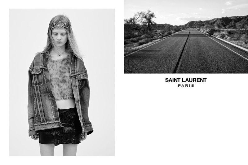 Hedi Slimane Saint Laurent