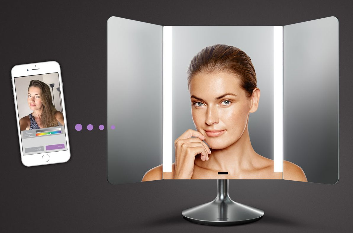 Wide View Sensor Mirror from SimpleHuman